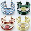 Watch Bracelets, alloy watch & ring, 22x22x9.5mm, Hole:Approx 50MM, Length:6 Inch, Sold by PC