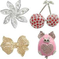 Gets.cn Zinc Alloy Brooch