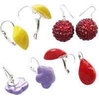 Resin Leverback Earring