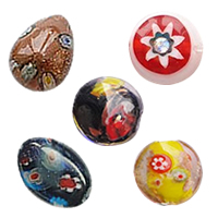 Millefiori Glass Beads Jewelry