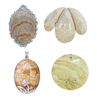 Picture Jasper Pendants