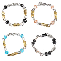 Crystal Stainless Steel Bracelets