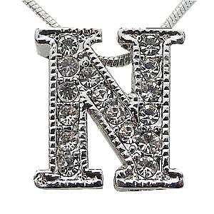 n alphabet design  Zinc Alloy Alphabet Pendant,