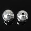 925 Sterling Silber Perlen, rund, verschiedene Größen vorhanden, verkauft von Tasche