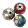 Beads filigran Cloisonne, Round, asnjë, 15mm, : 1mm, 40PC/Qese,  Qese