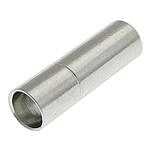 Bayonet tunxh kapje, ngjyrë platin praruar, asnjë, , nikel çojë \x26amp; kadmium falas, 17x5mm, : 4.5mm, 100PC/Qese,  Qese