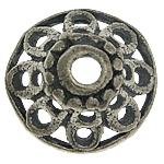 Bali Sterling Silver Bead Caps, Tajlandë, Lule, asnjë, asnjë, asnjë, 10x10x4.50mm, : 1.7mm, 10PC/Qese,  Qese