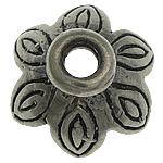 Bali Sterling Silver Bead Caps, Tajlandë, Lule, asnjë, asnjë, asnjë, 11x11x5mm, : 2.2mm, 5PC/Qese,  Qese
