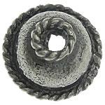 Bali Sterling Silver Bead Caps, Tajlandë, Lule, asnjë, asnjë, asnjë, 7.80x7.80x4mm, : 1.8mm, 10PC/Qese,  Qese