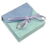 Byzylyk karton Box, Katror, blu, 95x90x25mm, 50PC/Qese,  Qese