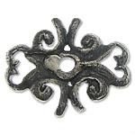 Bali Sterling Silver Bead Caps, Tajlandë, Shape Tjera, asnjë, asnjë, asnjë, 11x8.80x1.60mm, : 1.2mm, 20PC/Qese,  Qese