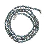 Süßwasser Zuchtperlen Armband, Natürliche kultivierte Süßwasserperlen, Eisen Karabinerverschluss, 4-5mm, verkauft per 7.5 ZollInch Strang