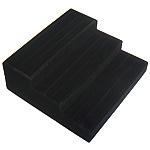 Display Velveteen Ring, Shkallë, asnjë, e zezë, 260x240x95mm,  PC