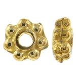 Beads Zink Alloy Spacer, Alloy zink, Lule, Ngjyra antike ari praruar, asnjë, asnjë, , nikel çojë \x26amp; kadmium falas, 4.50x2mm, : 1.5mm, 10000PC/KG,  KG