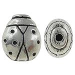Beads Alloy zink Kafshëve, Ngjyra antike argjendi praruar, asnjë, , nikel çojë \x26amp; kadmium falas, 9x11x7mm, : 0.5mm, 454PC/KG,  KG