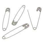 Iron fustanellë Pin, Hekur, ngjyrë platin praruar, asnjë, , nikel çojë \x26amp; kadmium falas, 56.70x10x3.20mm, 3Boxes/Shumë,  Shumë