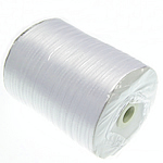 Saten Ribbon, Ribbon Sparkle, e bardhë, 3mm, :880Oborr,  PC