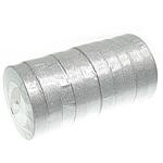 Ribbon Sparkle, argjend, 20mm, :250Oborr, 10PC/Shumë,  Shumë