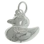 925 Sterling Silver varëse, Rosë, argjend praruar vërtetë, 12.70x14.60x6.40mm, : 4mm, 3PC/Qese,  Qese