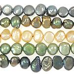 Barok Beads kulturuar Pearl ujërave të ëmbla, Pearl kulturuar ujërave të ëmbla, ngjyra të përziera, 4-5mm, : 0.8mm, :14.5Inç, 10Fillesat/Qese,  Qese