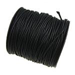 Cord Wax, e zezë, 1.50mm, :80Oborr,  PC