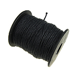 Cord Wax, e zezë, 1mm, :80Oborr,  PC