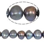 Barok Beads kulturuar Pearl ujërave të ëmbla, Pearl kulturuar ujërave të ëmbla, Një, 8-9mm, : 0.8mm, :14.5Inç,  14.5Inç,