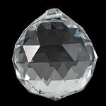 KRISTALLanhänger, Kristall, Tropfen, Kristall, 40x45mm, Bohrung:ca. 2mm, verkauft von PC