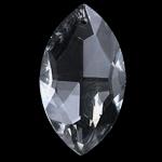 Crystal Pendants, Kristal, Syri kali, Kristal, 20x37x10mm, : 1.5mm,  PC