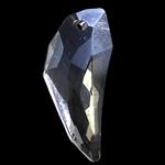 Crystal Pendants, Kristal, Nuggets, Kristal, 12x29x7mm, : 1mm,  PC
