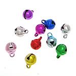 Tunxh Bell varëse, pikturë, ngjyra të përziera, , nikel çojë \x26amp; kadmium falas, 6x8.50mm, : 1.5mm, 1500PC/Qese,  Qese