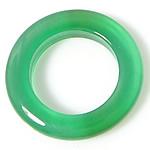 E gjelbër varëse agat, Jeshile agat, Petull e ëmbël në formë gjevreku, 8x8mm, : 8mm, 50PC/Shumë,  Shumë