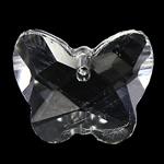 Crystal Pendants, Kristal, Kafshë, Kristal, 18x14x7mm, : 1.5mm, 10PC/Qese,  Qese