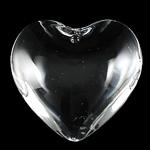 Crystal Pendants, Kristal, Zemra Flat, Kristal, 35x13mm, : 2mm,  PC