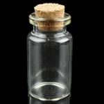 Nail bizhuteri Box, Plastik, Tub, i tejdukshëm, 22x40mm, 20PC/Qese,  Qese