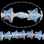 Deti Beads opal, Deti Opal, Yll, asnjë, 15x15x7mm, : 1.5mm, : 13.5Inç, 5Fillesat/Shumë,  Shumë