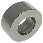 Beads bizhuteri çelik inox, Stainless Steel, Rondelle, asnjë, 4x9.50mm, : 5mm, 100PC/Shumë,  Shumë
