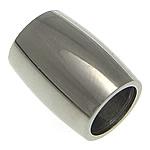 Beads bizhuteri çelik inox, Stainless Steel, Round Tube, asnjë, 12x9mm, : 6mm, 50PC/Shumë,  Shumë