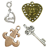 Metal Alloy Jewelry Pendants