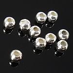 925 Sterling Silber Perlen, Trommel, verschiedene Größen vorhanden, verkauft von Tasche