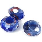 European Beads Crystal, Rondelle, asnjë, pa karrem, asnjë, 8-9x14-15mm, : 6mm, 100PC/Qese,  Qese