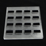 Organike Ring Glass Display, Glass Organike, Katror, asnjë, asnjë, asnjë, 150x150x14.80mm, 3PC/Shumë,  Shumë