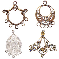 Chandelier Findings - Earring Findings - Discount Beads, Wholesale