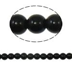 Beads Round Crystal, Kristal, Reaktiv, 8mm, : 1.5mm, :12Inç, 10Fillesat/Qese,  Qese