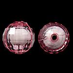 Bead në Beads akrilik Bead, Round, bead bead në, ngjyra të përziera, 12mm, : 2mm, 500PC/Qese,  Qese