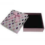 Karton Set bizhuteri Box, Katror, 90x90x30mm, 20PC/Shumë,  Shumë