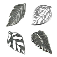 Iron Leaf Pendants