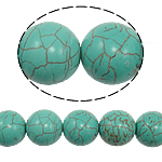 Bruz Beads, Bruz sintetike, Round, 18mm, : 1mm, : 15.5Inç, 23PC/Fije floku,  15.5Inç,