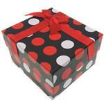 Byzylyk karton Box, Drejtkëndësh, dy-ton, 90x80x55mm, 20PC/Shumë,  Shumë