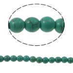 Bruz Beads, Bruz sintetike, Round, 8mm, : 1mm, : 14.5Inç, 50PC/Fije floku,  14.5Inç,